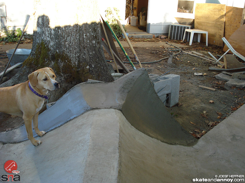 how to make a backyard skate bowl