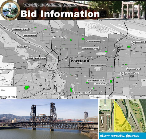 Portland\'s Steel Bridge skatepark project