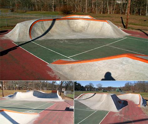Tennis Court skatepark