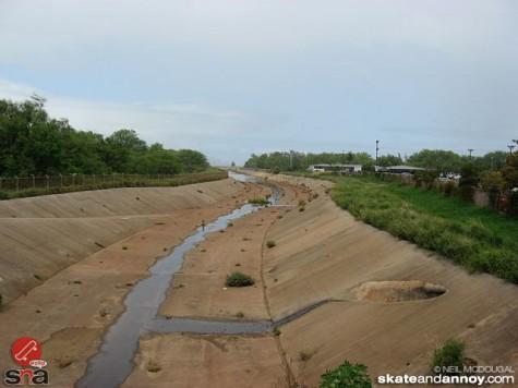 Drainage ditch at Kahalui airport Maui 0202