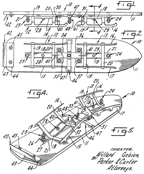 iceboard patent-1967