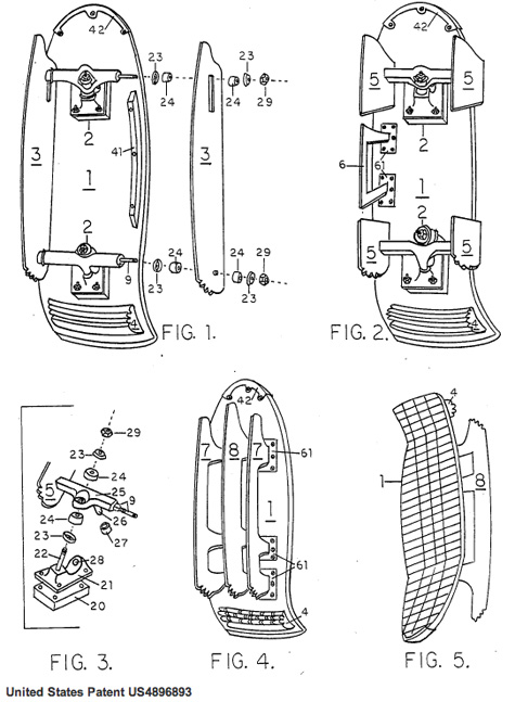 iceboard patent 1990
