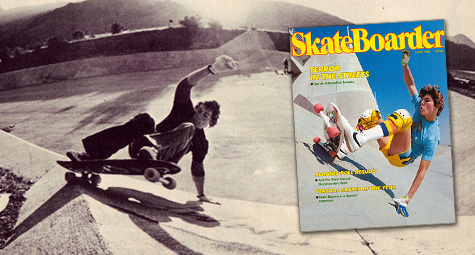 Kevin Thatcher in Skateboarder Magazine