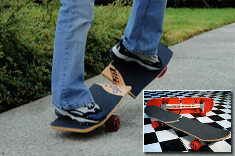 Swerver ultimate carving streetboard
