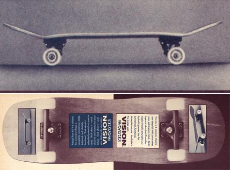 Vision skateboards V6 Concave