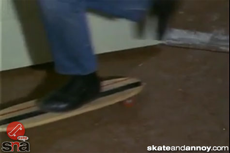 1967: skateboarding on TV Green Acres episode-05