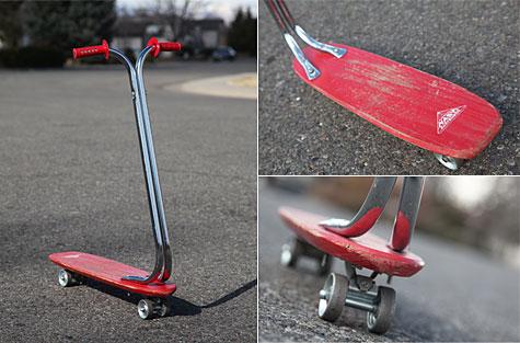 Vintage Nash skateboard scooter