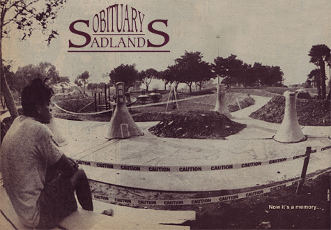 Sadlands Obituary from Poweredge Magazine.