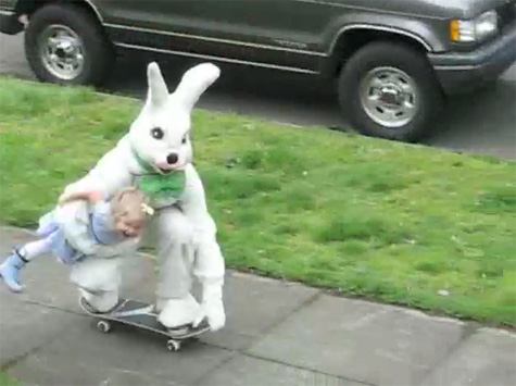 The Easter Bunny Skateboards