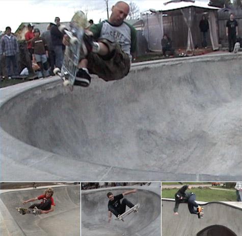 Matts Bowl fundraiser trip - Southern Oregon skateparks