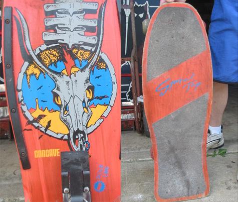 Nssh Spinal Tap skateboard.