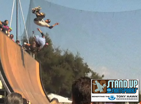 Tony Hawk Foundation Stand Up for Skateparks