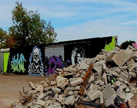 Lexington Kentucky skate graffiti