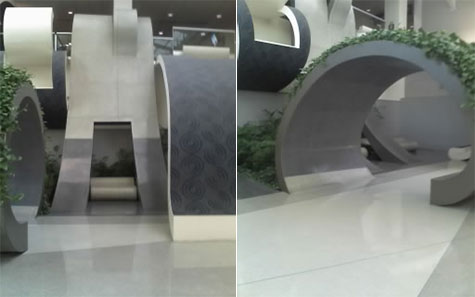 Flying Floors at Philadelphia International Airport