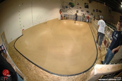 toxic skate indoor bowl