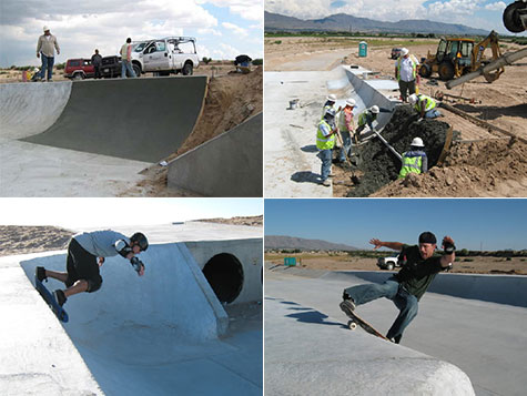 El Paso Texas - Edgemont drainage ditch