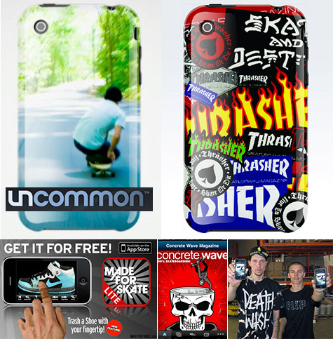 Thrasher Magazine iPhone case from Uncommon
