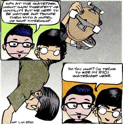 skate comic about maturity