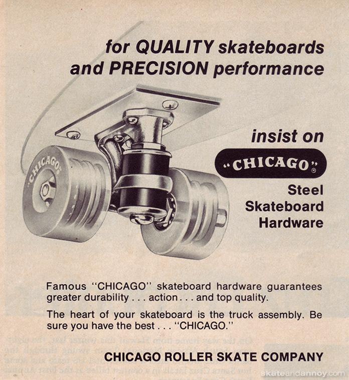 chicago roller skate company