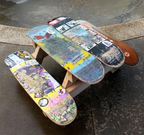 skateboard bench plans