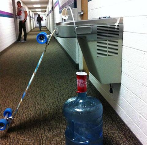 longboard-water