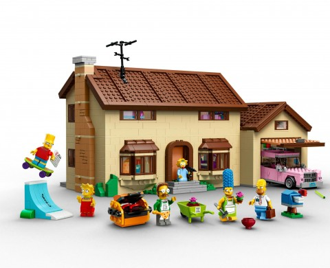 Lego Simpsons House
