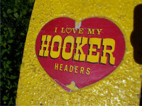 Hooker Headers Skateboard