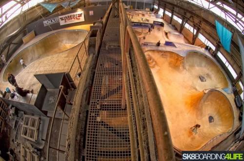 Peek Skateboards Indoor Skatepark in Düsseldorf