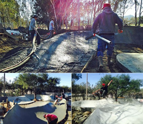 North County DIY skatepark