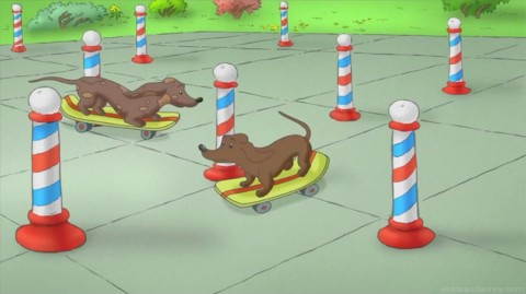 Curious George: We Are The Wiener Dogs
