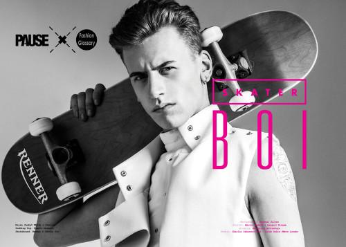 Skater Boi Pause Mag fashion