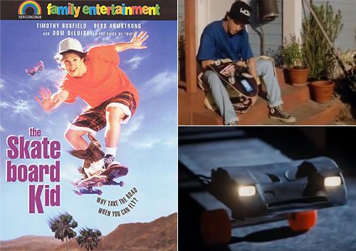 Kid Lightning Skateboard The Skateboard Kid Was