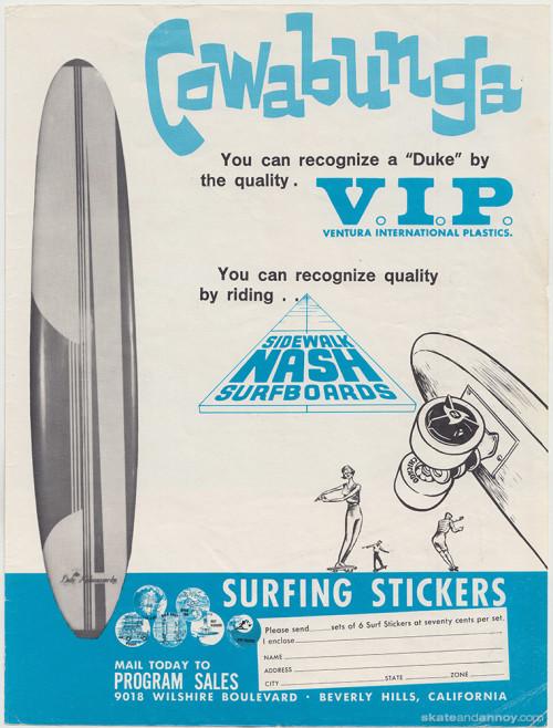 Nash Cowabunga, Duke Kahanamoku surfboard