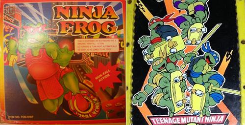 ninja-frog