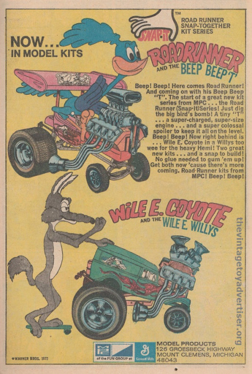 wile-e-coyote-model-kit