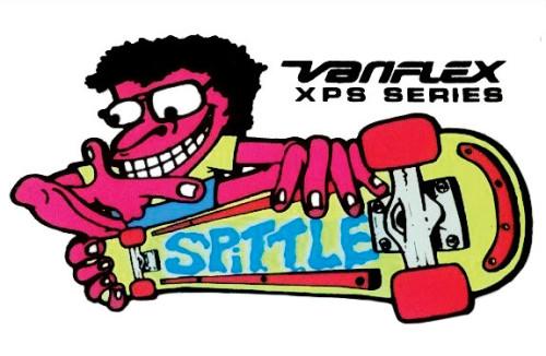 spittle-sticker