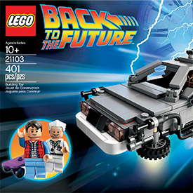 Lego Back to the Future Set 21103