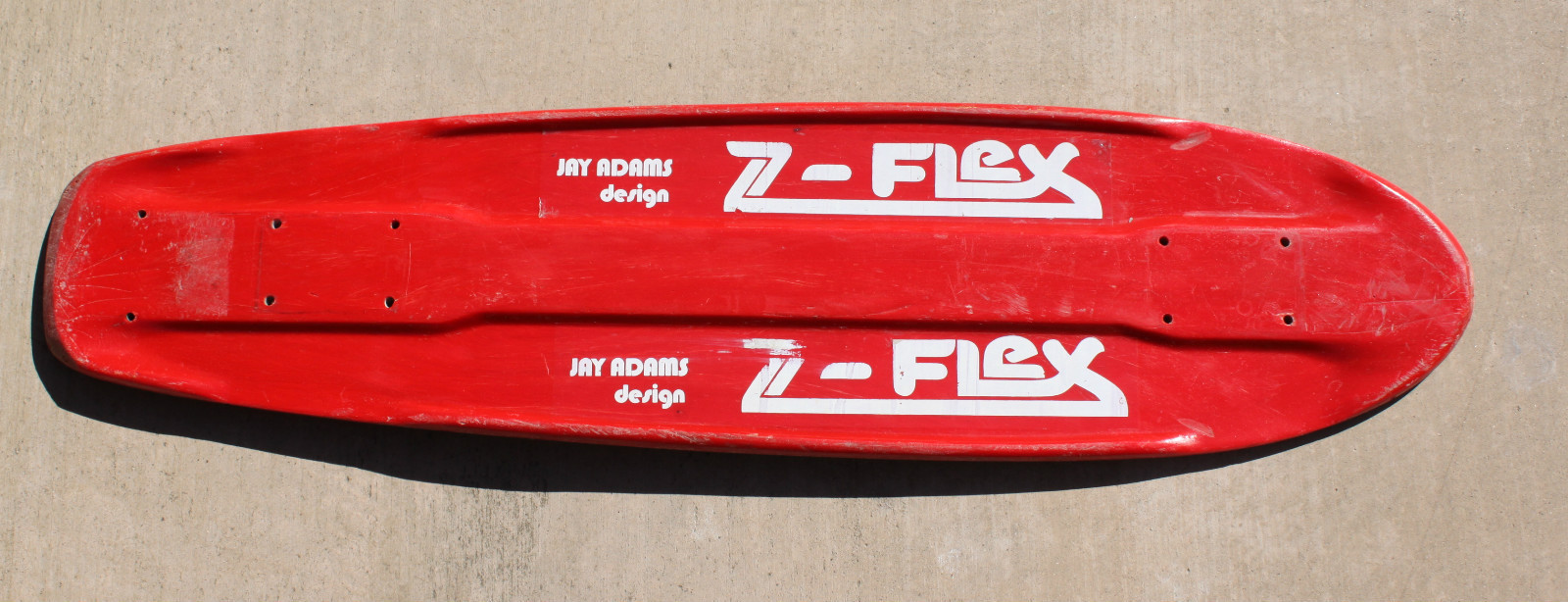 Fiberglass Skateboard Decks Fiberglass Deck From 1974